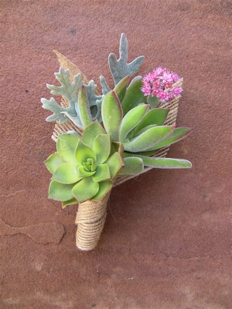 succulent boutonniere corsages gallery urban succulents