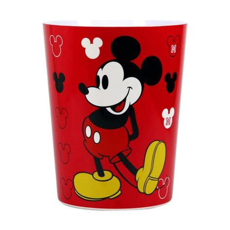 mickey mouse bath collection mickey mouse decorative bath collection wastecan 7487