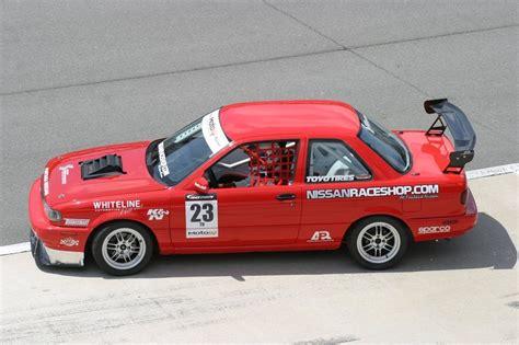 nissan sentra race car enkei rpf1 nissan race shop