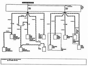 Mercedes-benz 300ce  1990 - 1991  - Wiring Diagrams