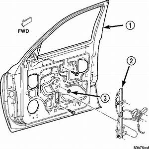 Power Window Cable Diagram For A 2000 Dodge Durango
