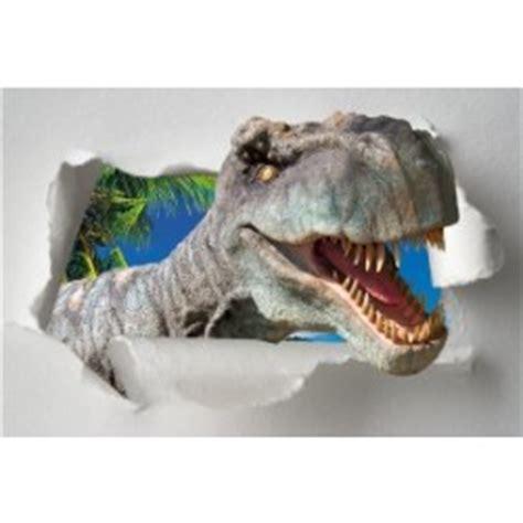stickers muraux dinosaure geant sticker l 233 unique trompe l oeil pont suspendu stickers autocollants