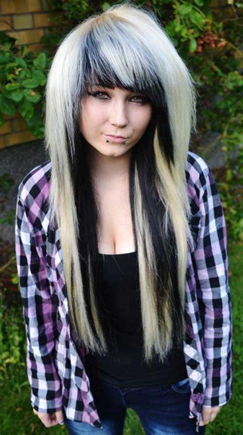 emo long hair hairstyles haircuts