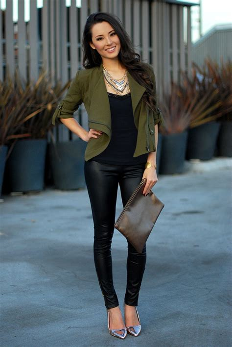 How To Wear LEATHER PANTS Anywhere? u2013 The Fashion Tag Blog
