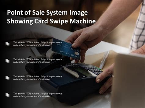 point  sale system image showing card swipe machine
