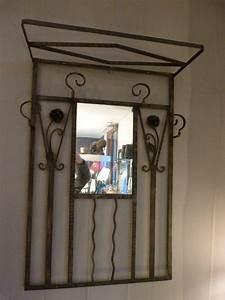 Porte Manteau Deco : porte manteaux art d co fer forg art d co pinterest d co fer forg porte manteaux et fer ~ Teatrodelosmanantiales.com Idées de Décoration