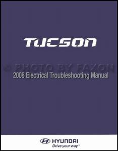 2008 Hyundai Tucson Repair Shop Manual 2 Volume Set Original