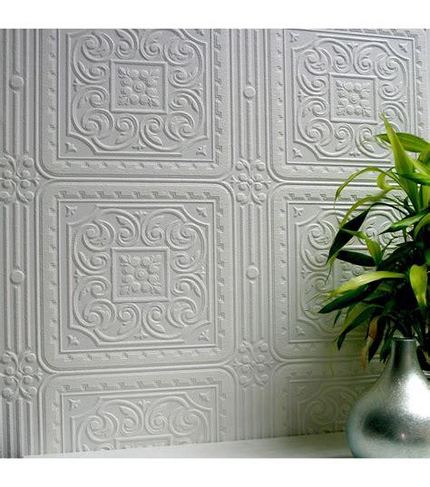 turner tile paintable textured vinyl wallpaper paintable