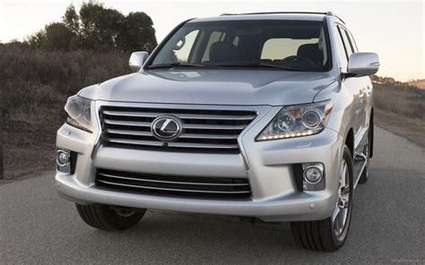 Lexus Lx 570 2018 Widescreen Exotic Car Wallpapers 02 Of