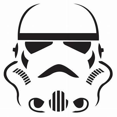 Pumpkin Stormtrooper Stencil Wars Star Templates Vader