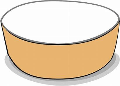 Bowl Empty Fruit Clipart Coloring Pages Webstockreview
