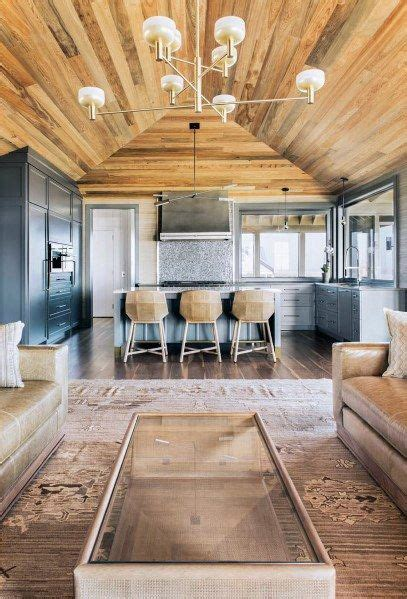 top   wood ceiling ideas wooden interior designs