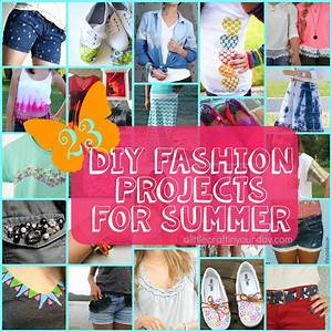 23 DIY Fashion Projects for Summer