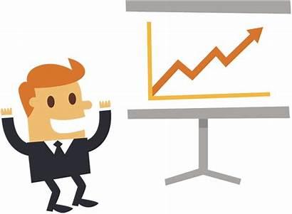 Business Happy Businessman Cartoon Clipart Hands Salesman