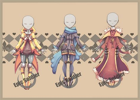 adoptables 6 closed by epic soldier on deviantart costume adoptables 5 closed by epic soldier on deviantart Costume