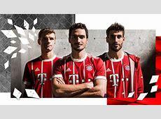 El Bayern Munich presenta su camiseta para la 20172018