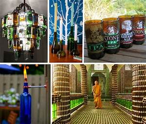 Booze it Up! 13 Rad Recycled Bottle Crafts & Projects