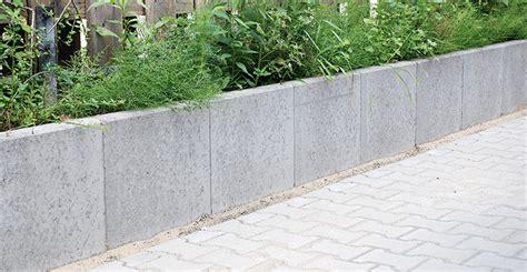 l steine oder betonmauer l steine ohne armierung gestaltungselemente produkte