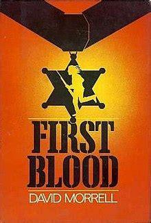 First Blood (novel) - Wikipedia