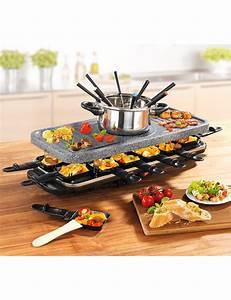 Raclette Fondue Set : raclette fondue set set 38 teilig ~ Michelbontemps.com Haus und Dekorationen