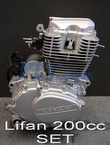 Lifan 200cc 5 Speed Engine Motor Cdi Motorcycle Dirt Bike