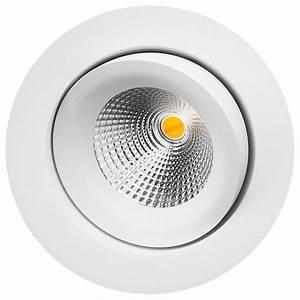 Spot Led Encastrable Plafond Faible Hauteur : spot led 8w orientable et encastrable pour clairage int rieur ~ Melissatoandfro.com Idées de Décoration