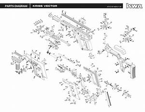 Kwa Kriss Vector Exploded Diagram  U2013 Ksc Part  U2013 Original