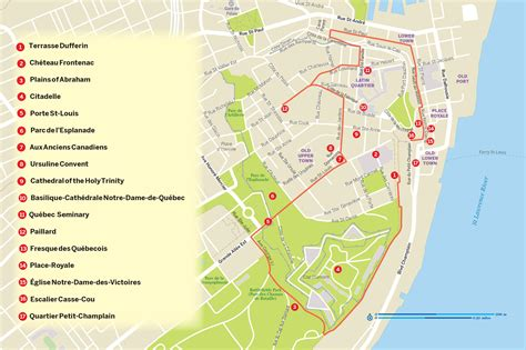 quebec city hop  hop  map map  quebec city hop