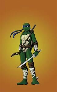 Teenage Mutant Ninja Turtles Leonardo By Danthompson82 On