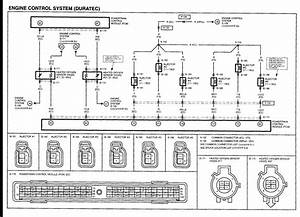 Injector Wiring Diagram 2005 Mazda Tribute 2007 Ford F