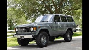 Frame Off Restored 1984 Toyota Land Cruiser Fj60