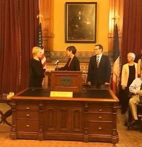 Iowa woman promoted to nation's lone all-male Supreme Court