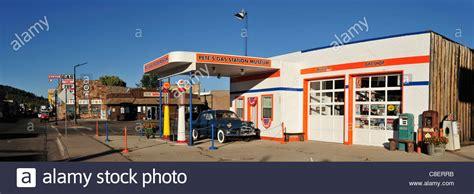 Usa United States America Arizona Williams Route 66 Pete S Gas Station Museum Williams Route 66 Arizona