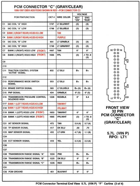 94 Lt1 Pcm Wiring Diagram by Lt1 Ignition Issues Help Third Generation F