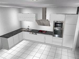 Küchenbeispiele L Form : k chen l form ~ Sanjose-hotels-ca.com Haus und Dekorationen