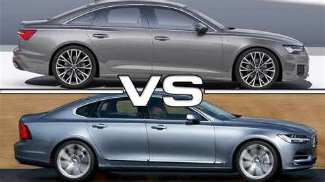 2019 Audi A6 Vs 2018 Volvo S90 Youtube