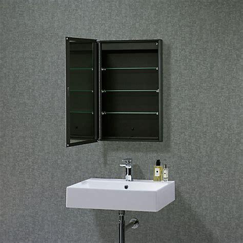 Sided Mirror Bathroom Cabinet by Buy Roper Limit Slimline Single Bathroom Cabinet