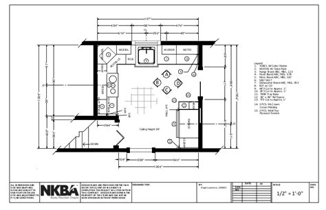 kitchen remodeling floor plans nkba graphic standards kitchen set 5570
