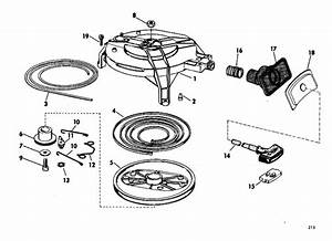 Johnson Starter Group Parts For 1968 20hp Fd