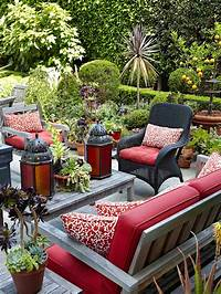 deck furniture ideas Modern Furniture: Patio Decorating Tips For Summer 2013