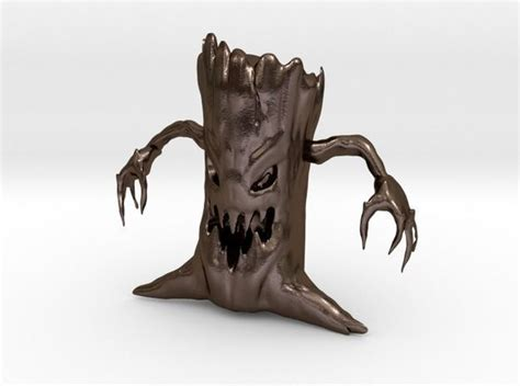 monster tree  model  printable stl cgtradercom