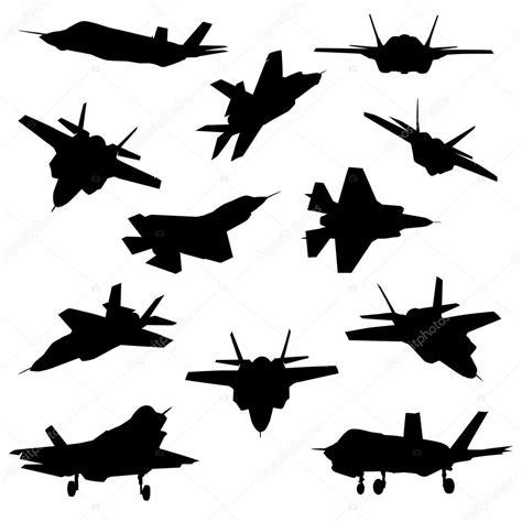 Истребитель самолетов силуэты