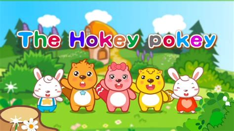 hokey pokey sing  kids dance song  lyrics