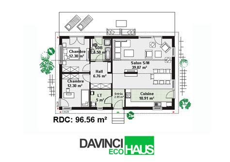 prix maison plain pied 3 chambres maison plain pied en ossture bois écologique
