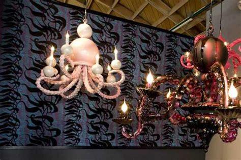 tentacle octopus chandleiers unuque lighting fixtures