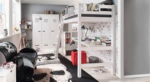 Hochbett Mit Zwei Betten : hochbett mit leiter f r kinder hochbett kids paradise ~ Whattoseeinmadrid.com Haus und Dekorationen