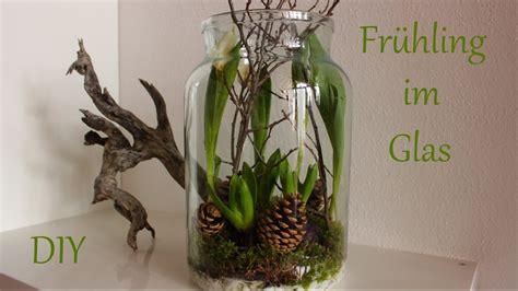 diy fruehling im glas fruehlingsdeko mit