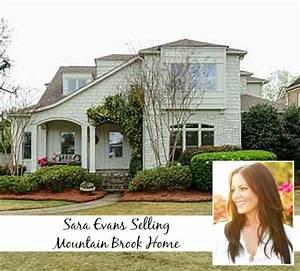 Singer Sara Evans Selling Her Sweet Home in Alabama