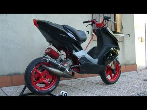 Aprilia sr 50 tuning - YouTube