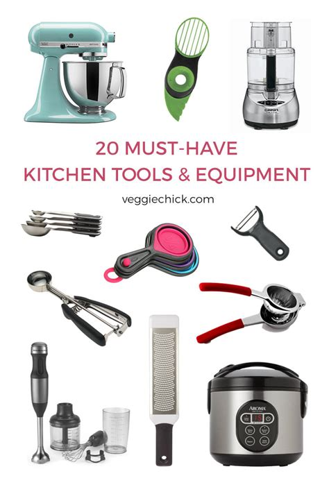 kitchen tools and equipment 20 must kitchen tools equipment the veggie